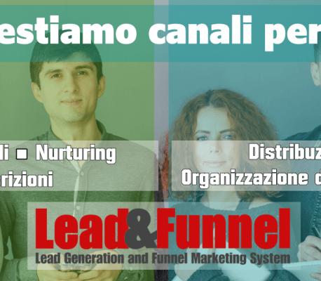 Apri il tuo canale di Lead Generation